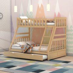 Calypso Natural Bunk Bed