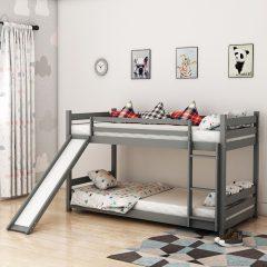 Sling Grey Slide Bunk Bed