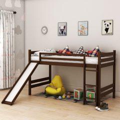 Bunky Brown Slide Bunk Bed
