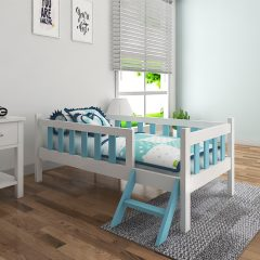 munchie blue toddler bed