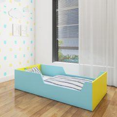 tippy blue toddler bed