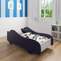 blue car bed