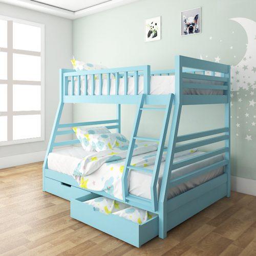 Huelva Blue Bunk Bed