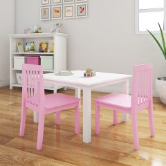 pink nursery chair