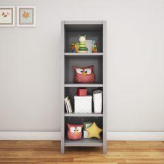 kids' grey floor shelf