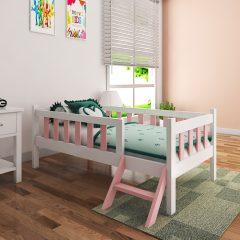 munchie pink toddler bed