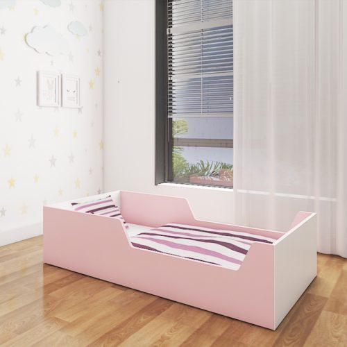 tippy toddler pink bed