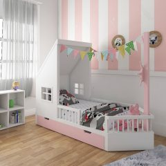 dory pink kids bed