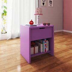 kids purple night stand