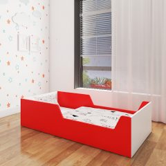 tippy tippy red toddler bed