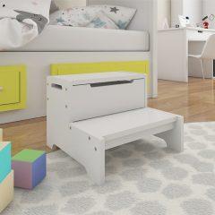 first white step storage