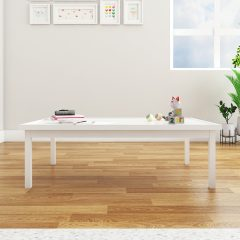 white craft table