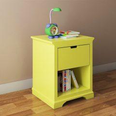 yellow winnie night stand